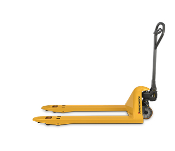 Profile View of a Jungheinrich Hand Pallet Jack