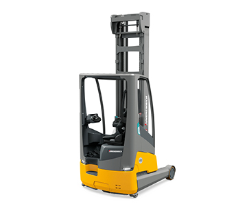 Integrated Lithium-Ion Moving Mast Reach Truck
