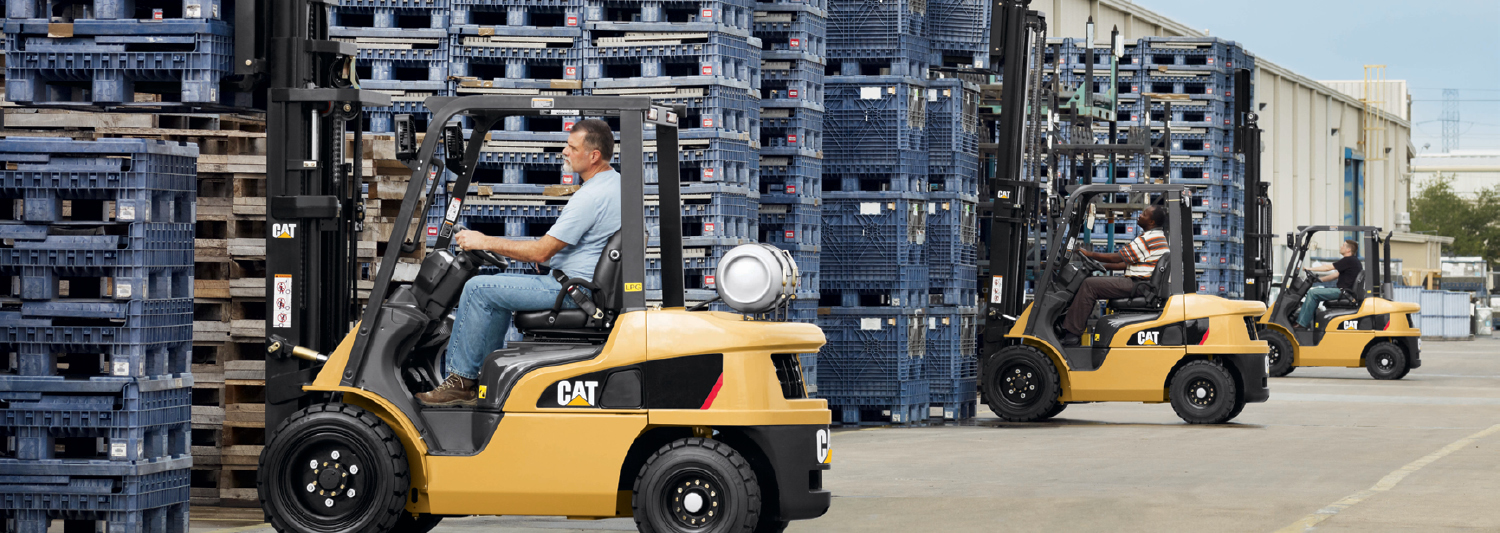 Here to support you – Cat Lift Trucks