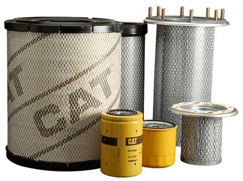 CAT oil filters and parts