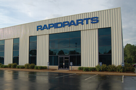 Outdoor Shot of Rapidparts Inc. Headquarters