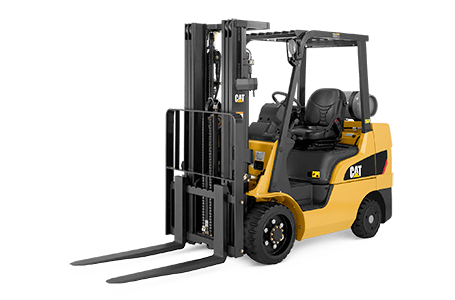 Full View of a CAT Lift Truck