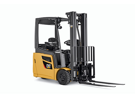 Cat Electric Pneumatic Tire Forklift Showcase