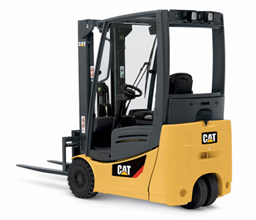 Product image of Cat pneumatic forklift