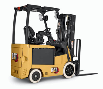 Cat cushion tire lift truck