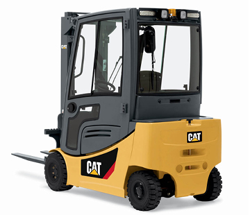 Product selection image of Cat small electric pneumatic forklift
