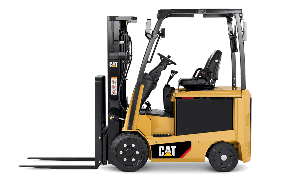 Side View of a CAT EC22N2 Forklift