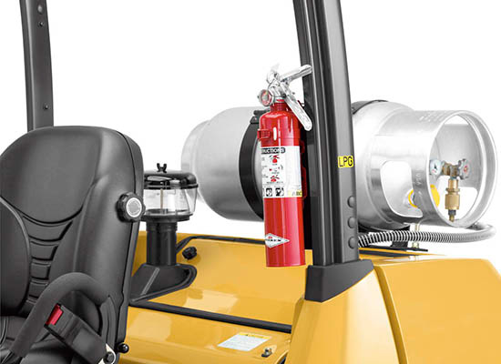 Cat GP40N IC forkliflt safety features