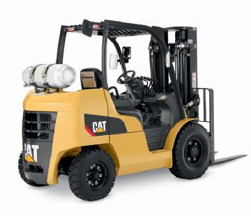Cat pneumatic tire IC lift truck product image