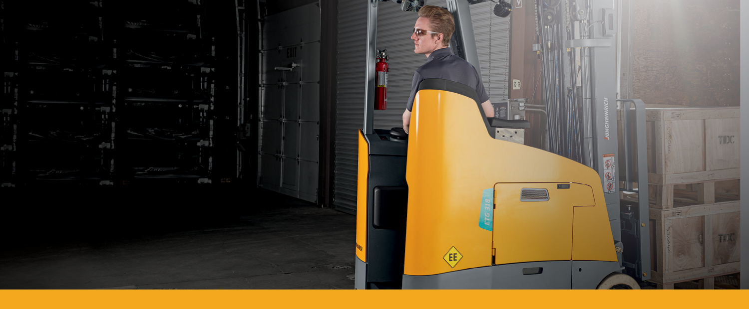 Jungheinrich Stand-Up Counterbalance Warranty Promotion