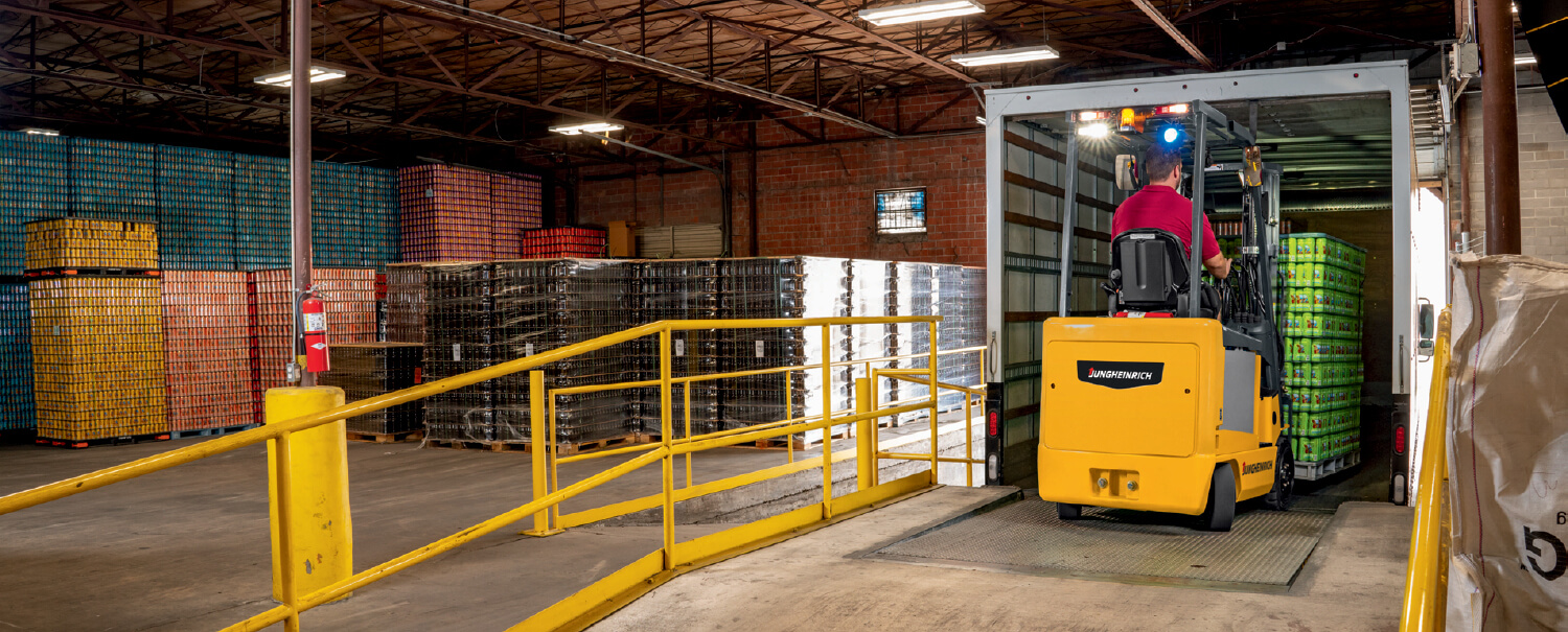 Jungheinrich Electric Counterbalance Forklifts Request Information