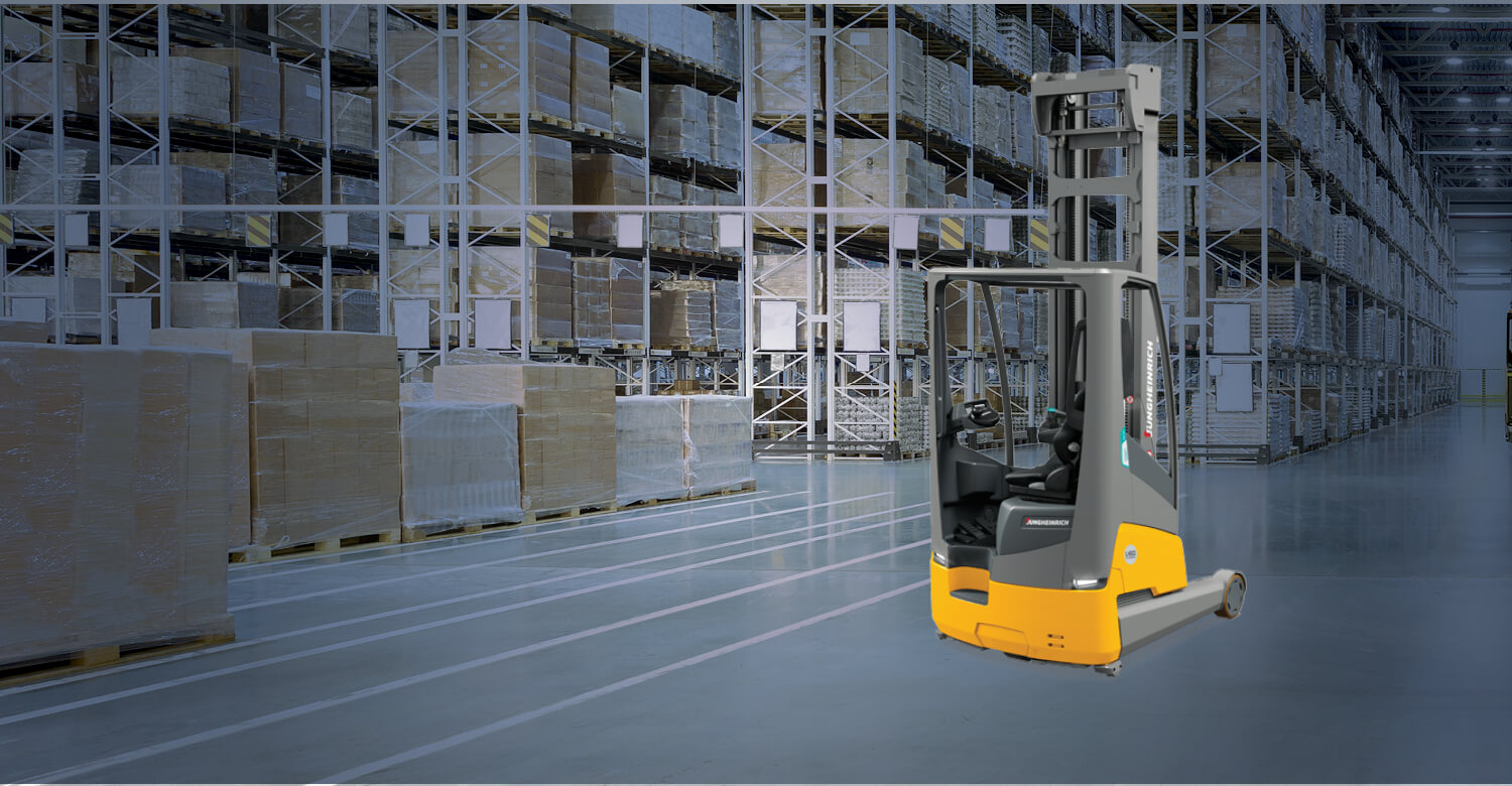 Jungheinrich Integrated Lithium-Ion Forklifts