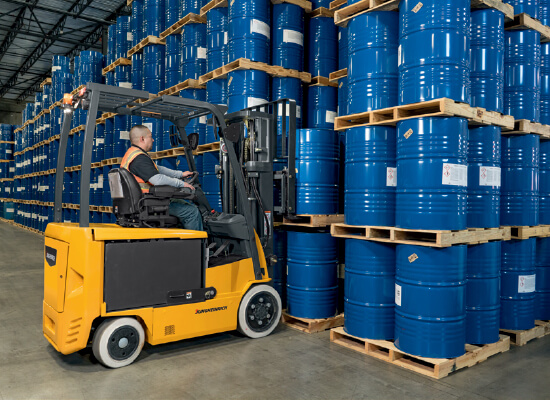 EFG C23-C30L Series Jungheinrich Lift Truck Retrieving Materials
