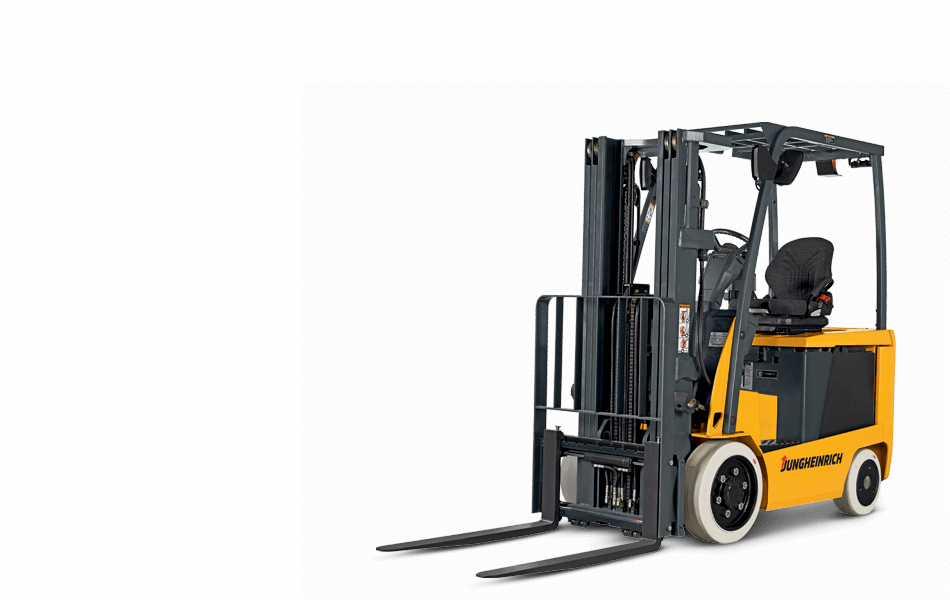 Full View of a�EFG C23-C30L Series Forklift by Jungheinrich