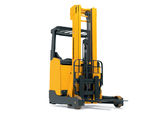 Jungheinrich ETV214 electric sit down reach truck