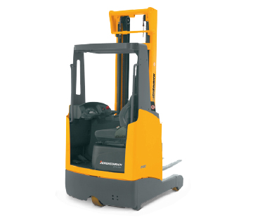 Product image of Jungheinrich sit-down moving mast high reach truck