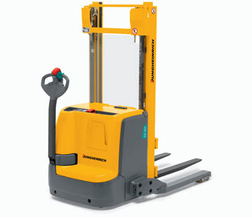 Product image of Jungheinrich walkie fork-over stacker