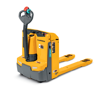 Product selection image of a Jungheinrich walkie pallet truck