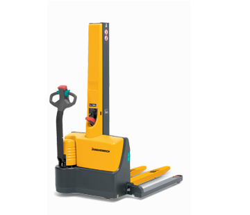 Jungheinrich EMC B10 walkie straddle stacker product image