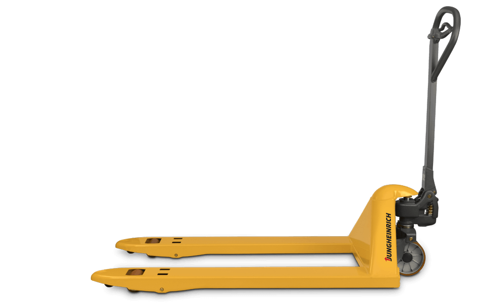 Side View of a Jungheinrich Hand Pallet Jack