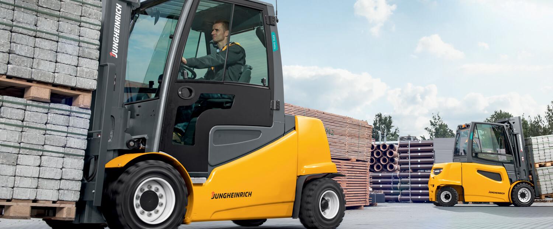 Electric Forklift Jungheinrich Erv308: Forklifts, Electric Pallet Jacks & Reach Trucks