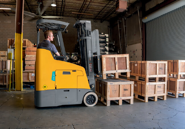 Jungheinrich Stand-Up Counterbalanced Forklift