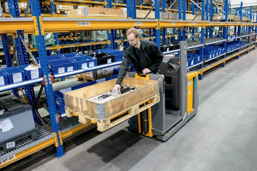 efficient warehouses use low order pickers and other appropriate lift trucks