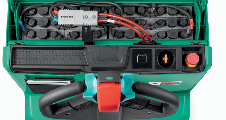 how to charge an electric forklift battery