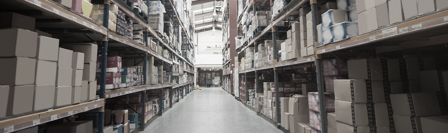 Aisle of a Warehouse�
