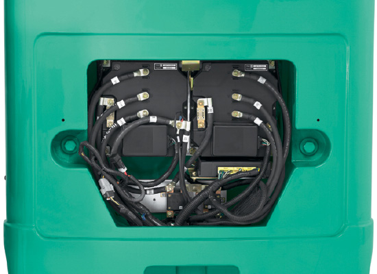 Mitsubishi FBC15N engine and battery