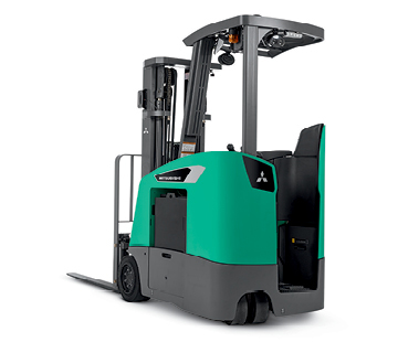Product selection image of Mitsubishi stand-up counterbalanced forklift