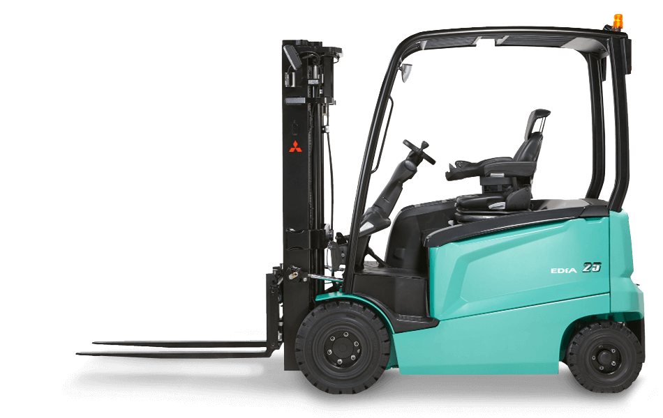 Profile View of a Mitsubishi FB25N-FB25N Series Forklift