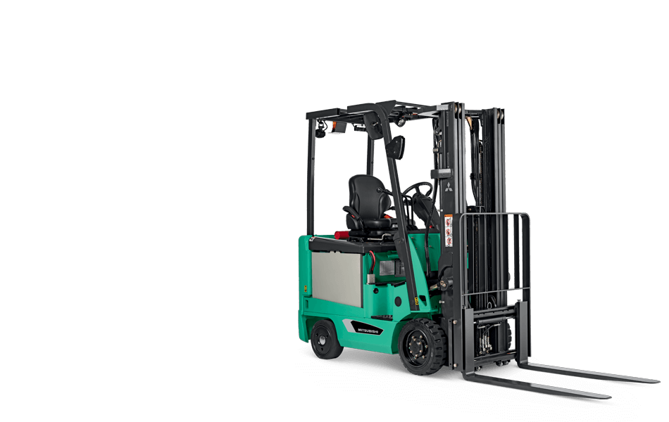 Profile View of a Mitsubishi FBC15N Forklift