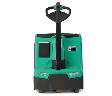 Product selection image of a Mitsubishi motorized pallet truck
