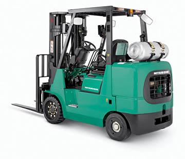 Product selection image of Mitsubishi IC cushion tire forklift