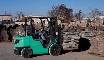 FG15N-FG35N / FD20N-FD35N | Mitsubishi Forklift Trucks