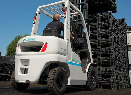 Platinum II IC Pneumatic Forklift